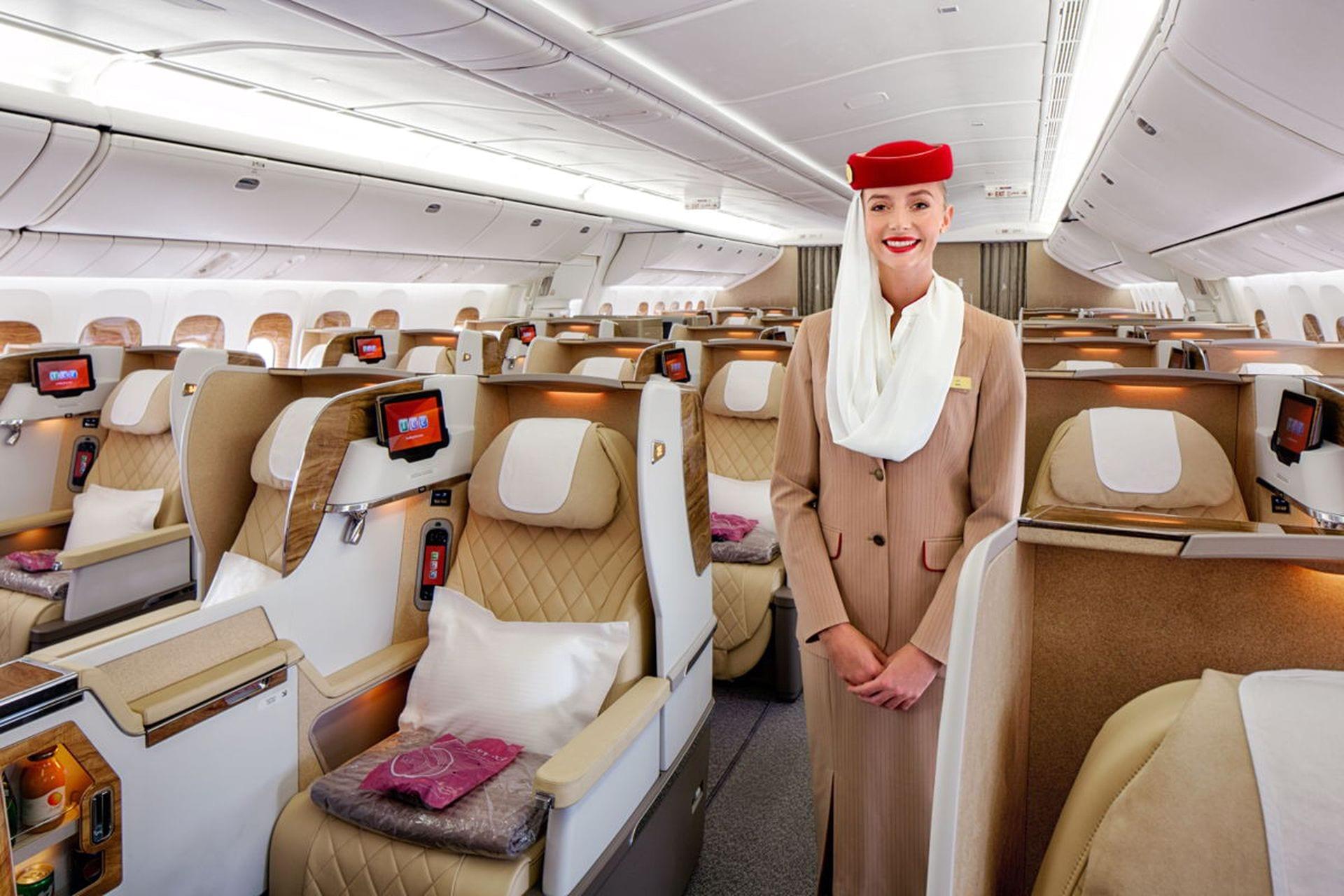 Emirates Prasentiert Neue Business Class Fur Die Boeing 777 200lr