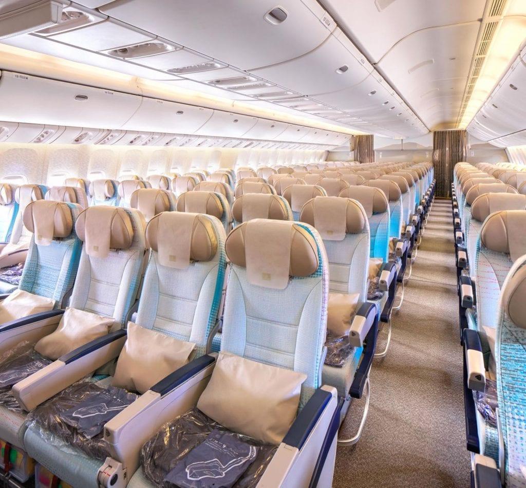 Emirates Economy Class Boeing 777 200LR