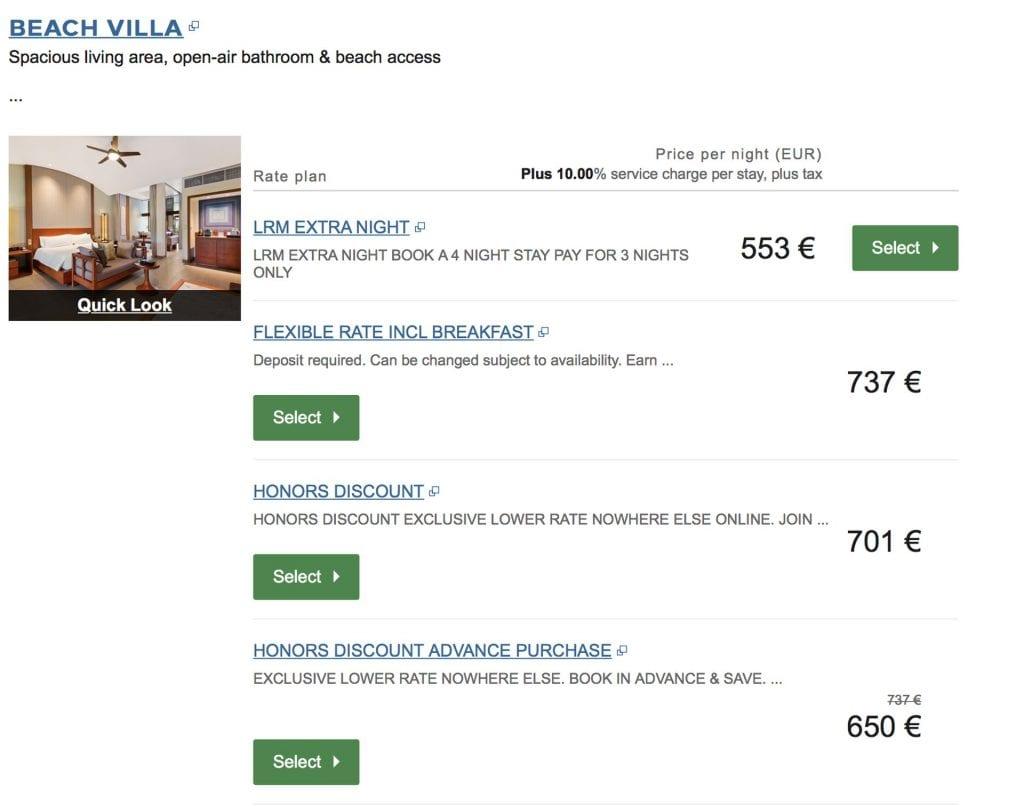 Freinacht in Conrad Hotels – Conrad Malediven