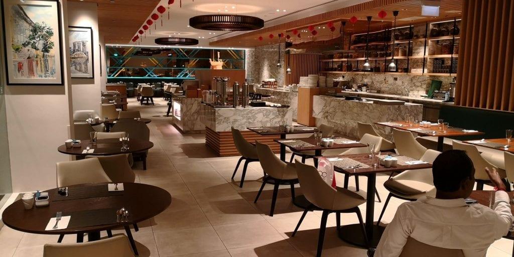 Hilton Garden Inn Singapore Serangoon Frühstück Raum