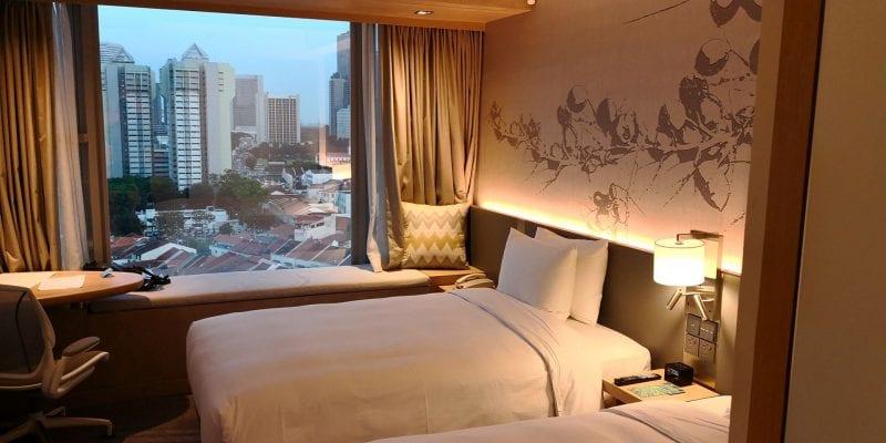 Hilton Garden Inn Singapore Serangoon Zimmer
