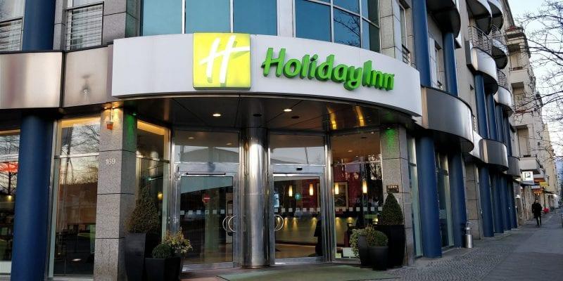 HolidayInn Berlin Prenzlauer Berg Eingang