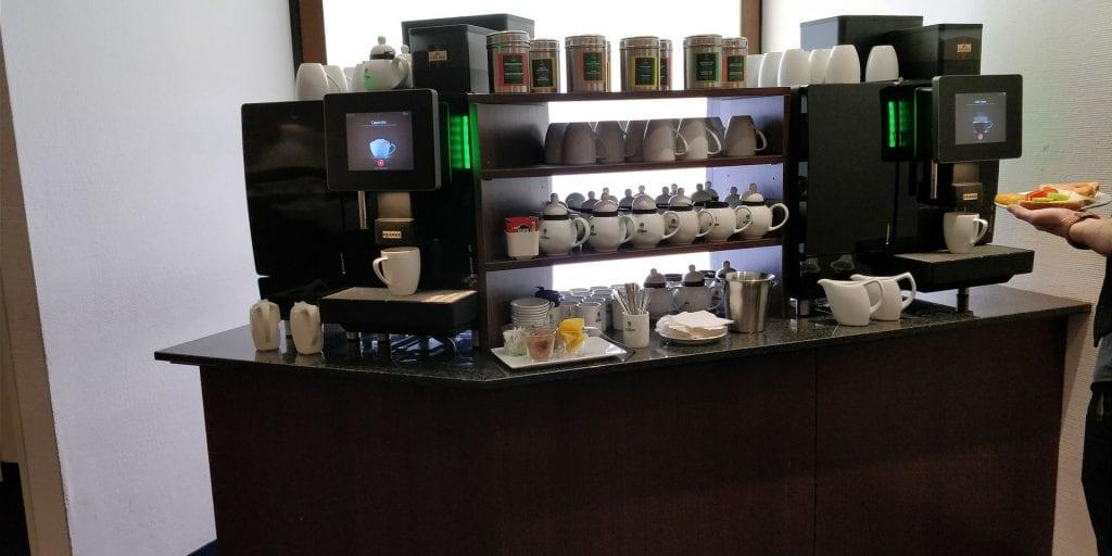 HolidayInn Berlin Prenzlauer Berg Frühstück Kaffee