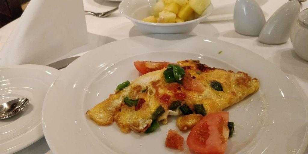 HolidayInn Berlin Prenzlauer Berg Frühstück Omelette