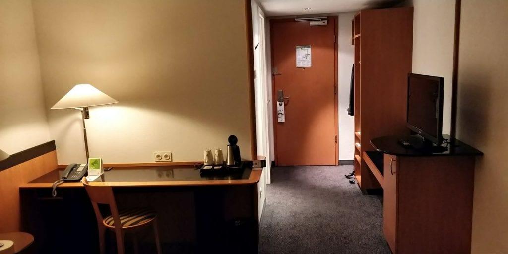 HolidayInn Berlin Prenzlauer Berg Zimmer Flur