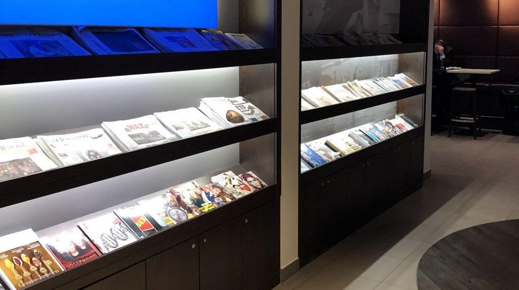 Hugo Junkers Lounge Düsseldorf Zeitschriften