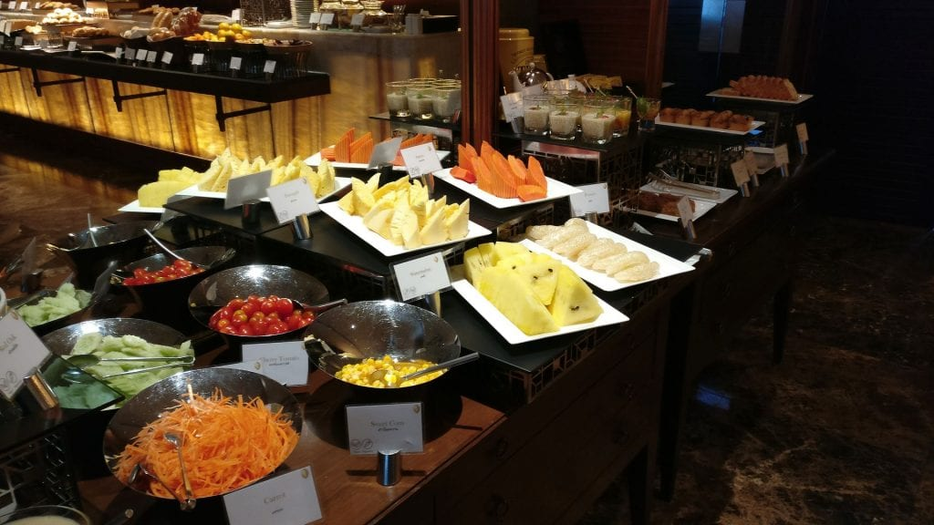 InterContinental Bangkok Executive Lounge Breakfast