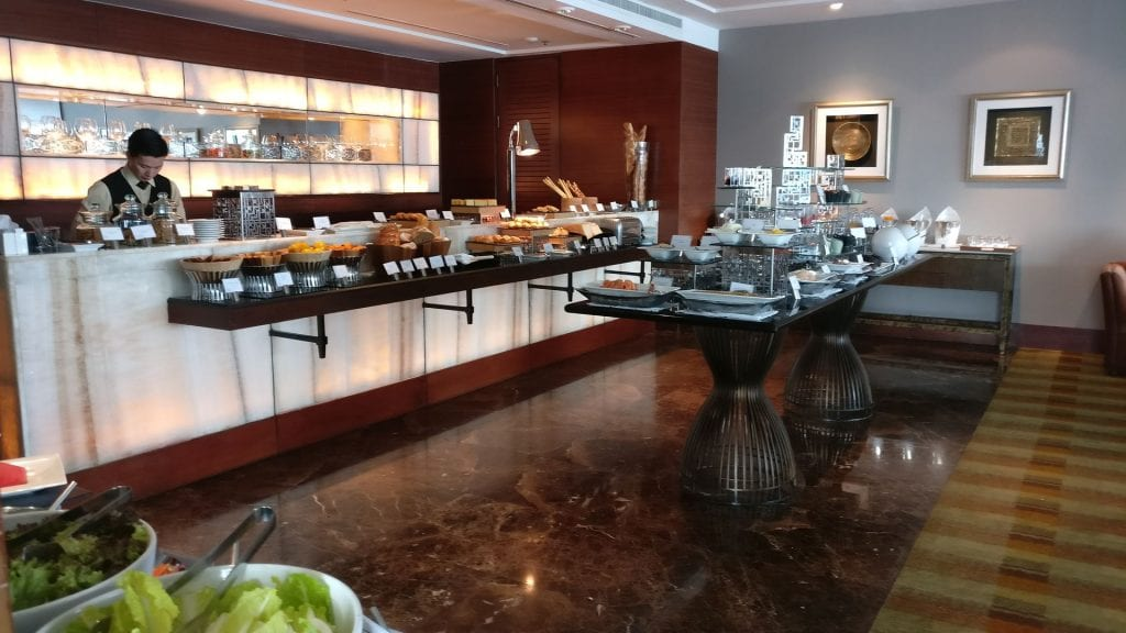 InterContinental Bangkok Executive Lounge Breakfast 11