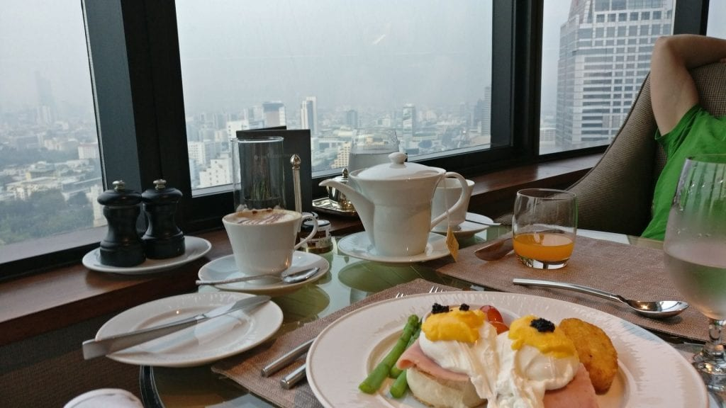 InterContinental Bangkok Executive Lounge Breakfast 8