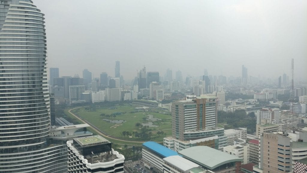 InterContinental Bangkok Executive Lounge View
