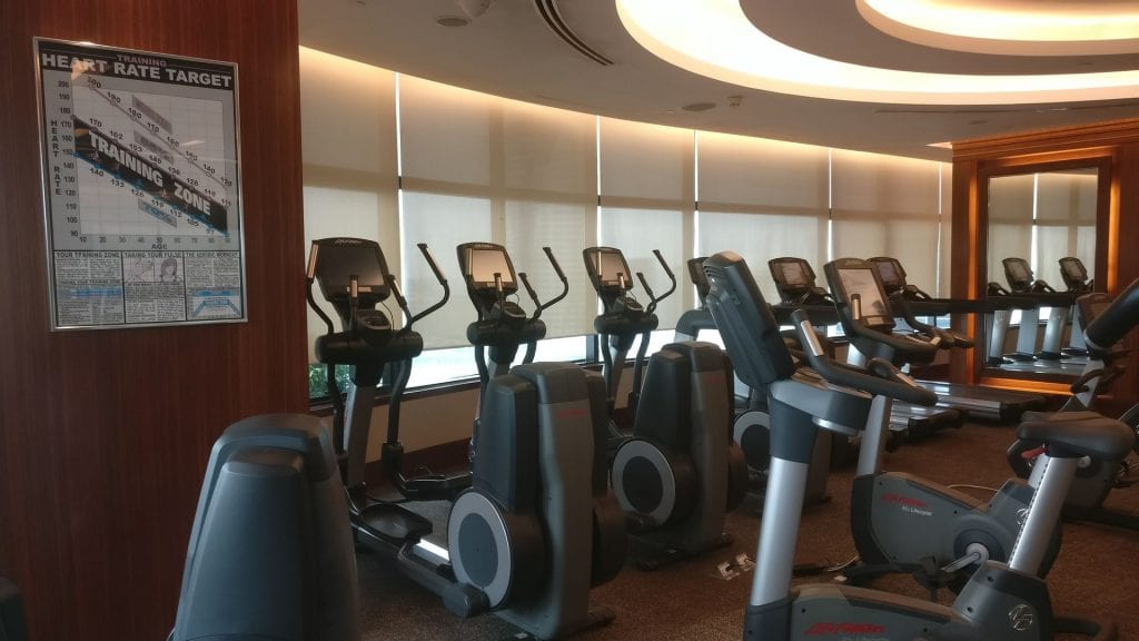 InterContinental Bangkok Gym 2