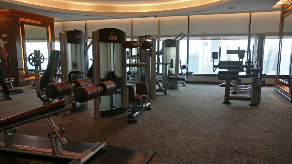 InterContinental Bangkok Gym 3