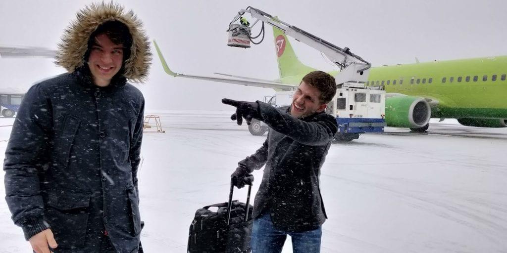Jan Moritz Chisinau airport