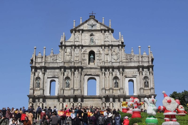 Macao Saint Paul's Ruins (2)
