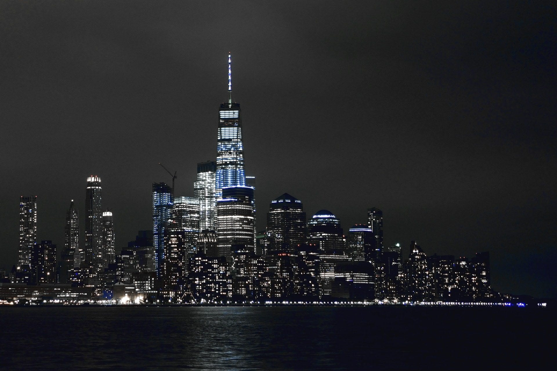 New York Skyline Nacht