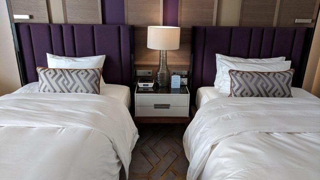 Ritz Carlton Berlin Twin Betten