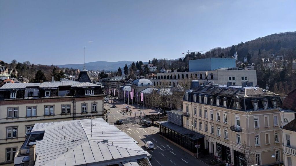 Roomers Baden Baden Aussicht