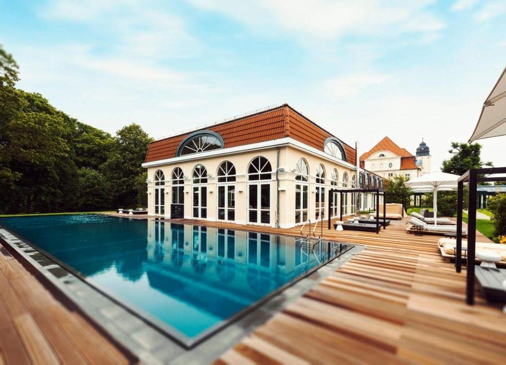 Schlosshotel Fleesensee Pool