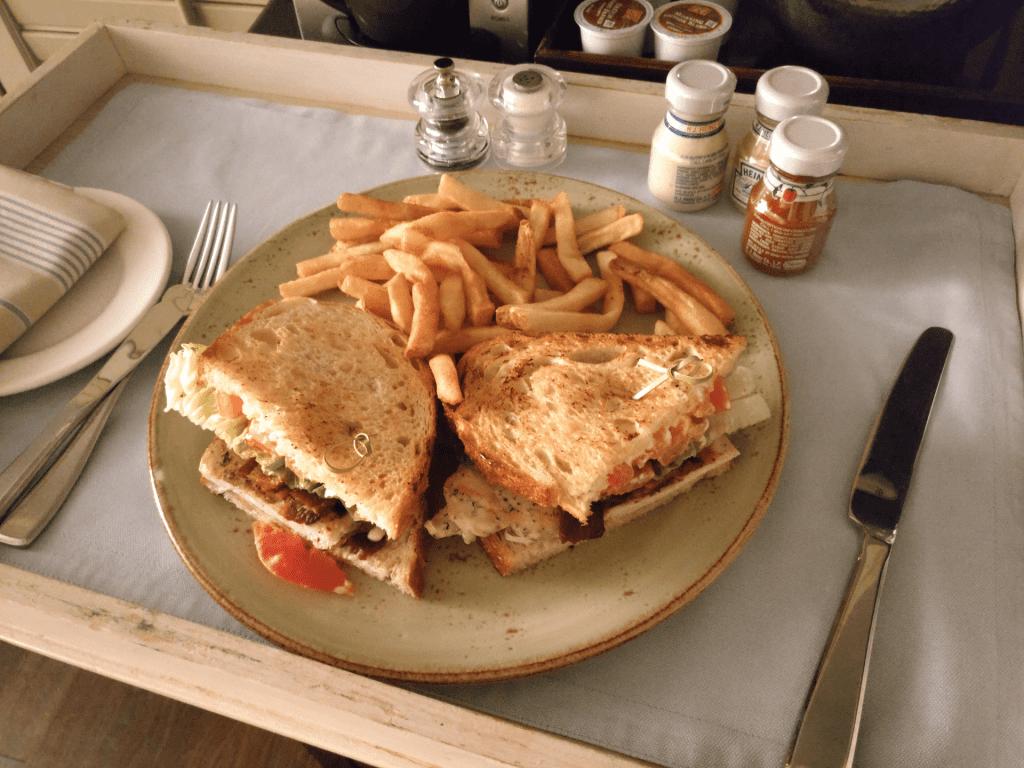 Shutters on the Beach Club Sandwich