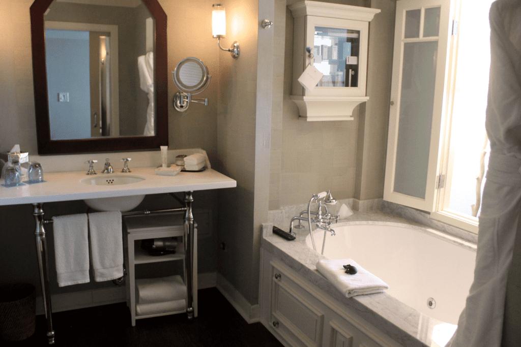 Shutters on the Beach Deluxe Room Bathroom
