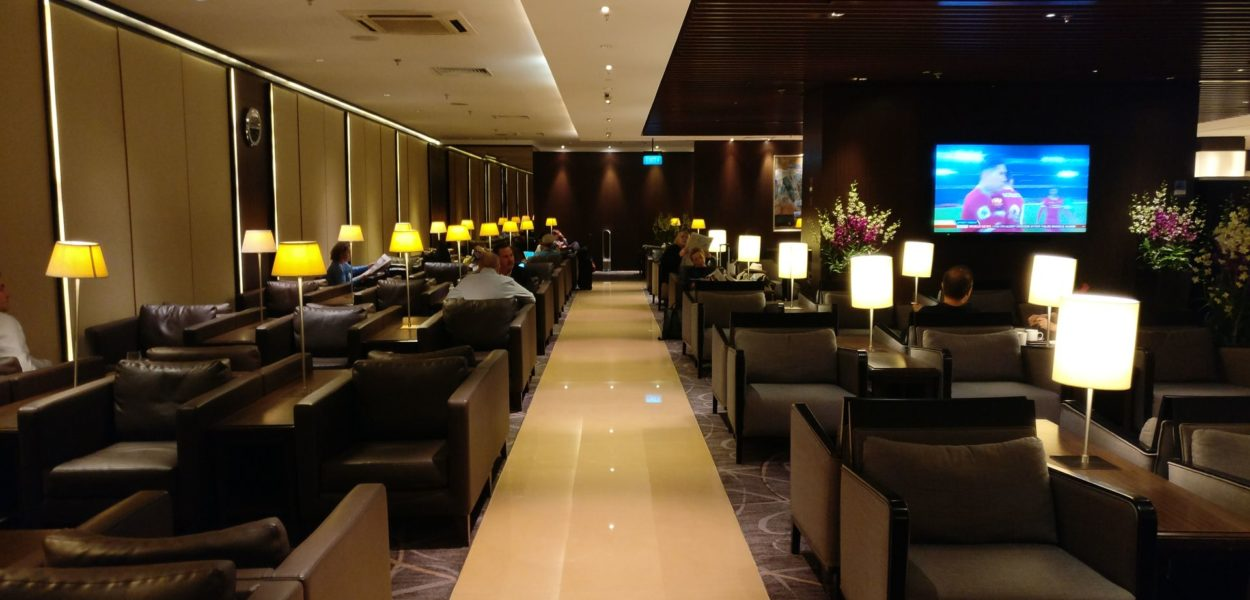 Singapore Airlines SilverKris Lounge Singapore T2 Seating 2