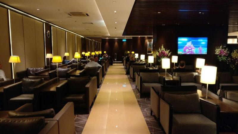 Singapore Airlines SilverKris Lounge Singapore T2 Seating 2