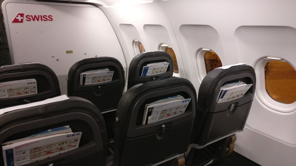 Swiss Business Class Airbus A319