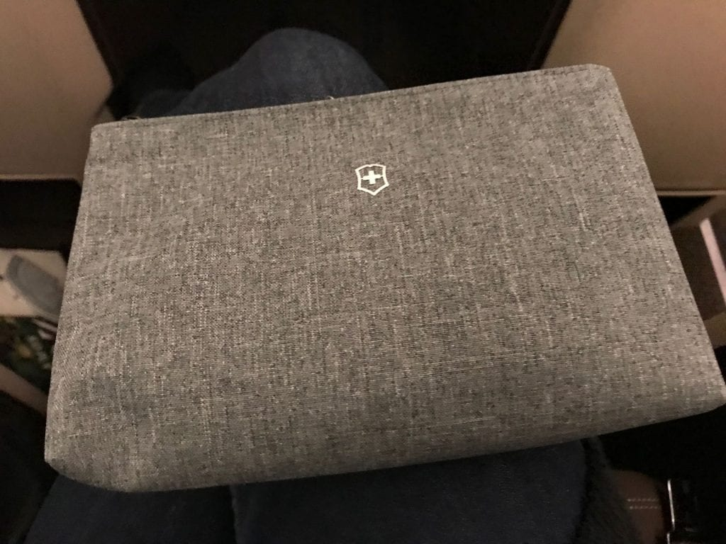 Swiss Business Class Airbus A330 Amenity Kit Victorinox