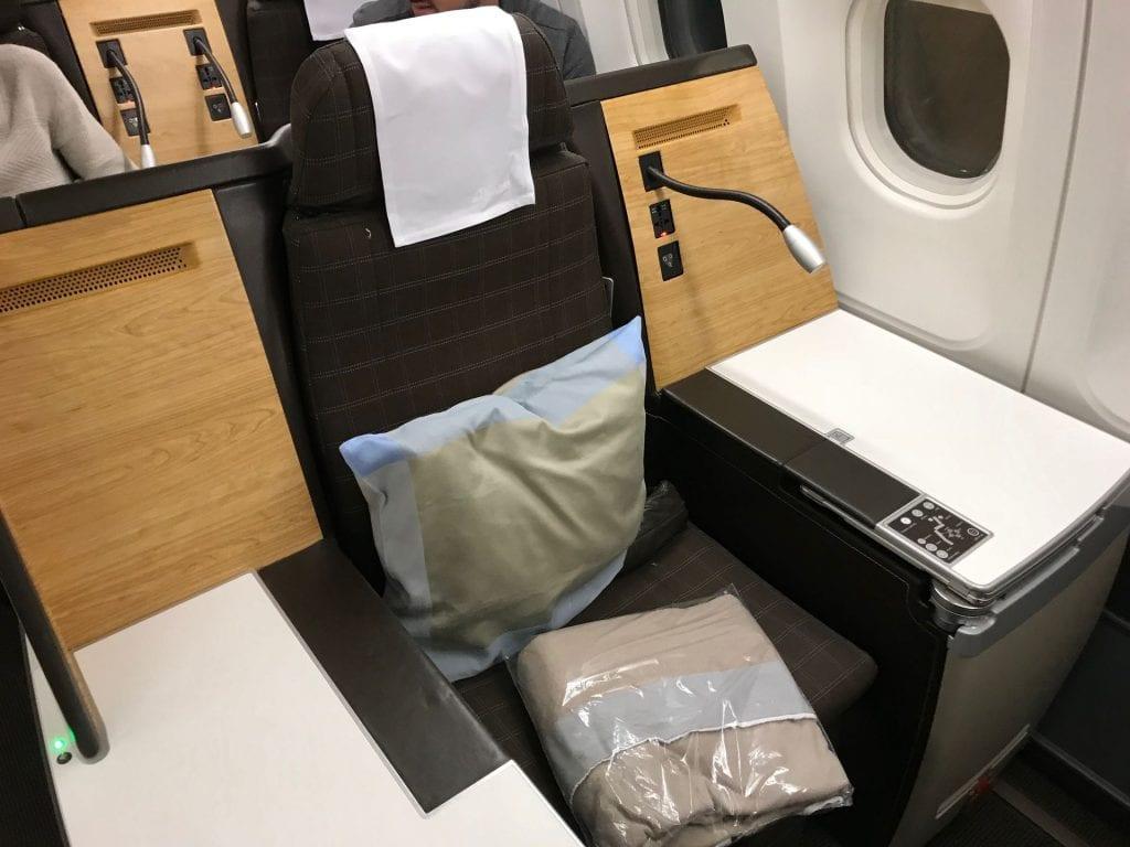 Swiss Business Class Airbus A330 Sitz Thron Einzelsitz