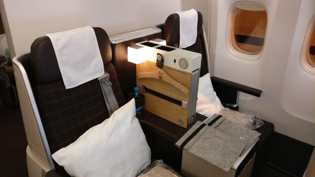 Swiss Business Class Boeing 777 3