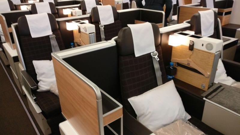 Swiss Business Class Boeing 777 6