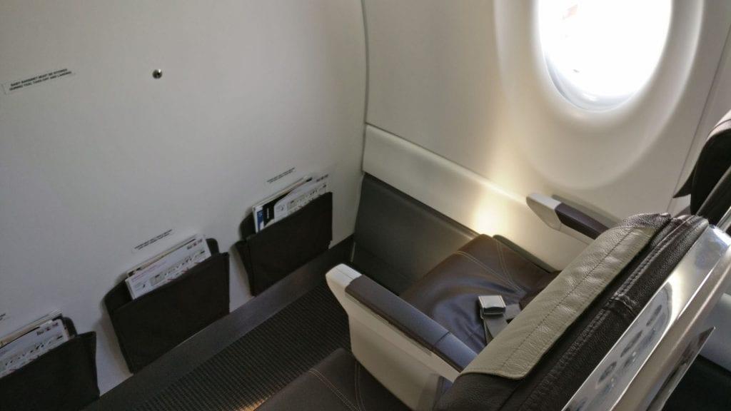 Swiss Business Class CS100 Sitze 2