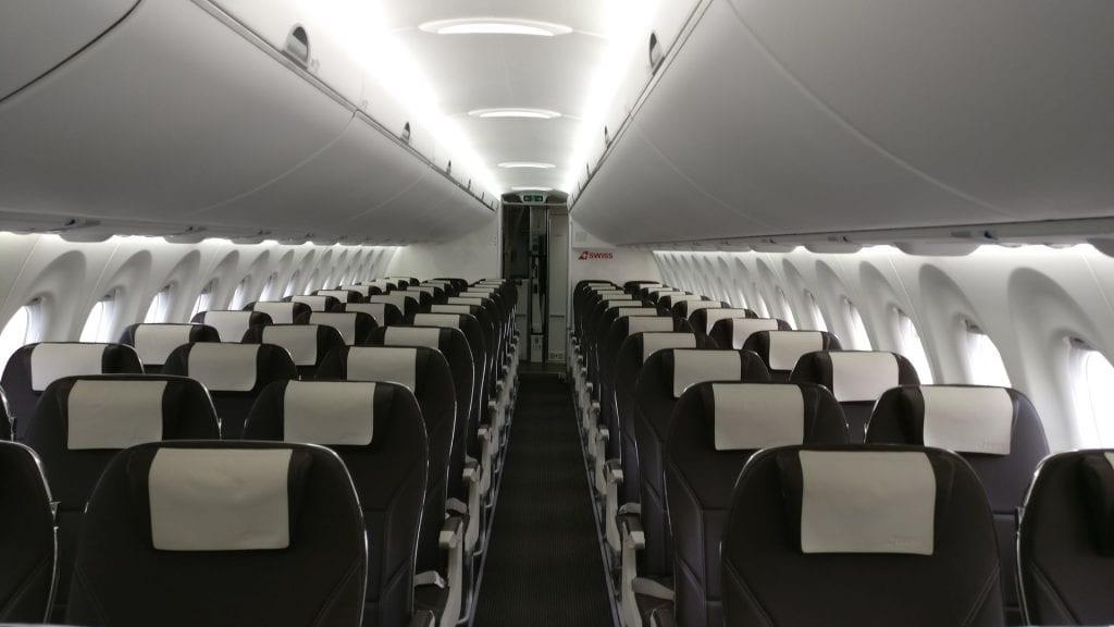 Swiss CS300 Economy Class