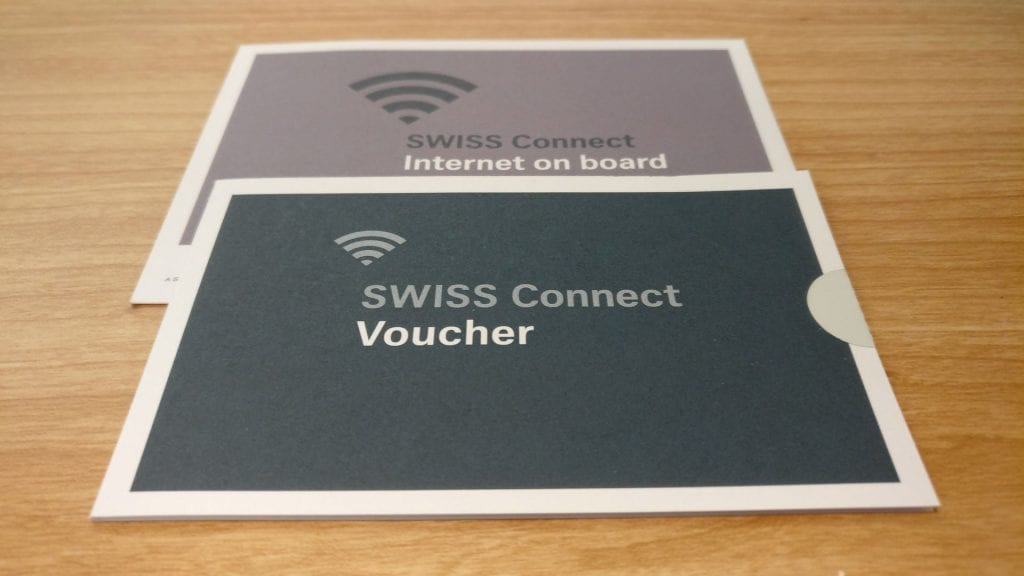 Swiss First Class Internet Voucher