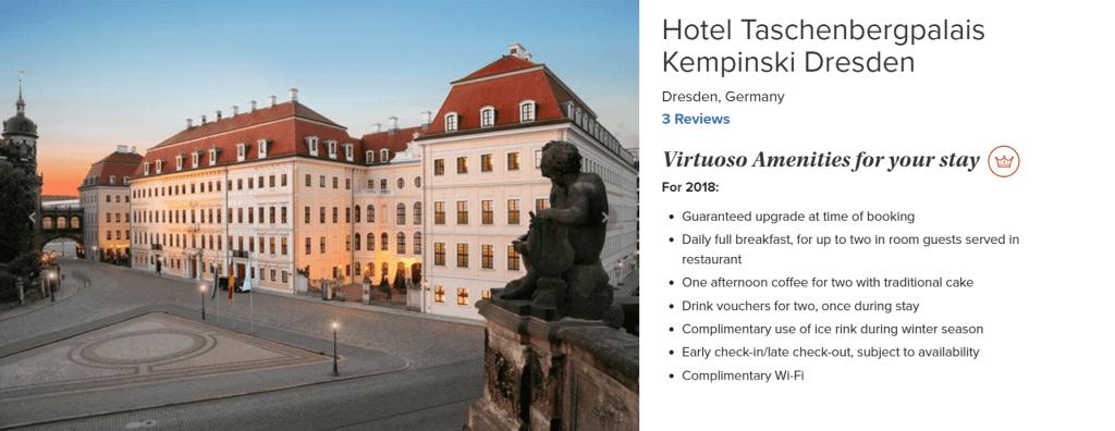 Taschenbergpalais Kempinski Dresden Virtuoso 2