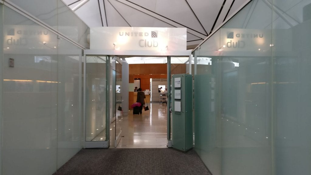 United Club Hongkong Entrance
