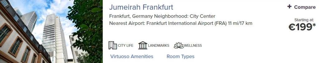 Virtuoso Jumeirah Frankfurt