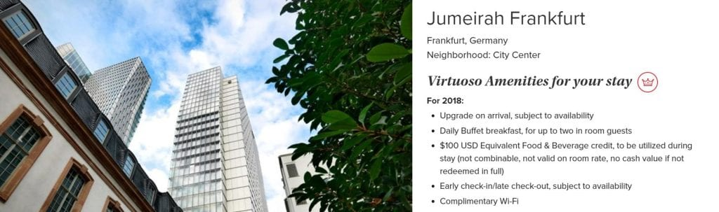 Virtuoso Jumeirah Frankfurt 2