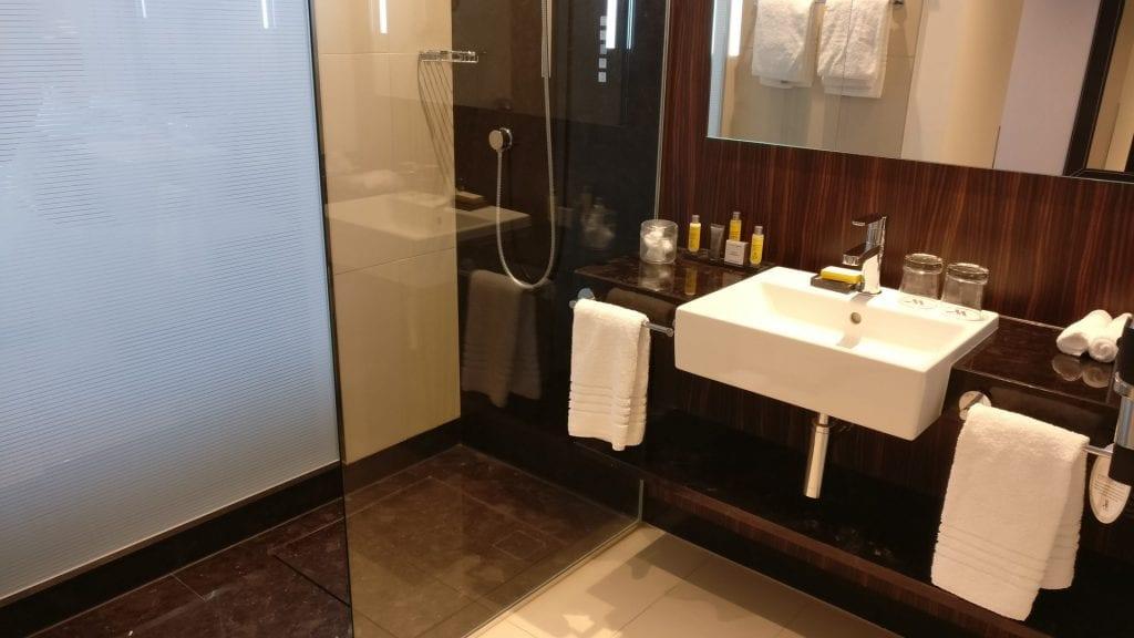 marriott bonn badezimmer