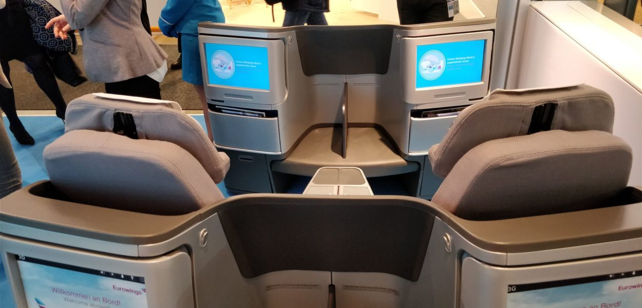 neue eurowings business class biz class itb berlin 2