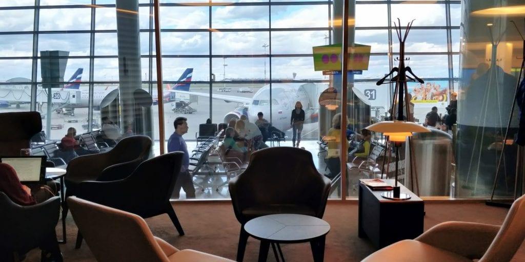 Aeroflot Lounge Priority Pass Moskau