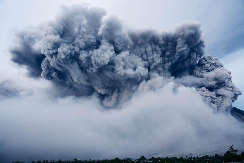 Aschewolke Vulkan