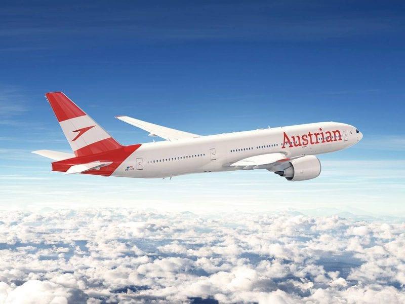 Austrian Airlines Neue Lackierung