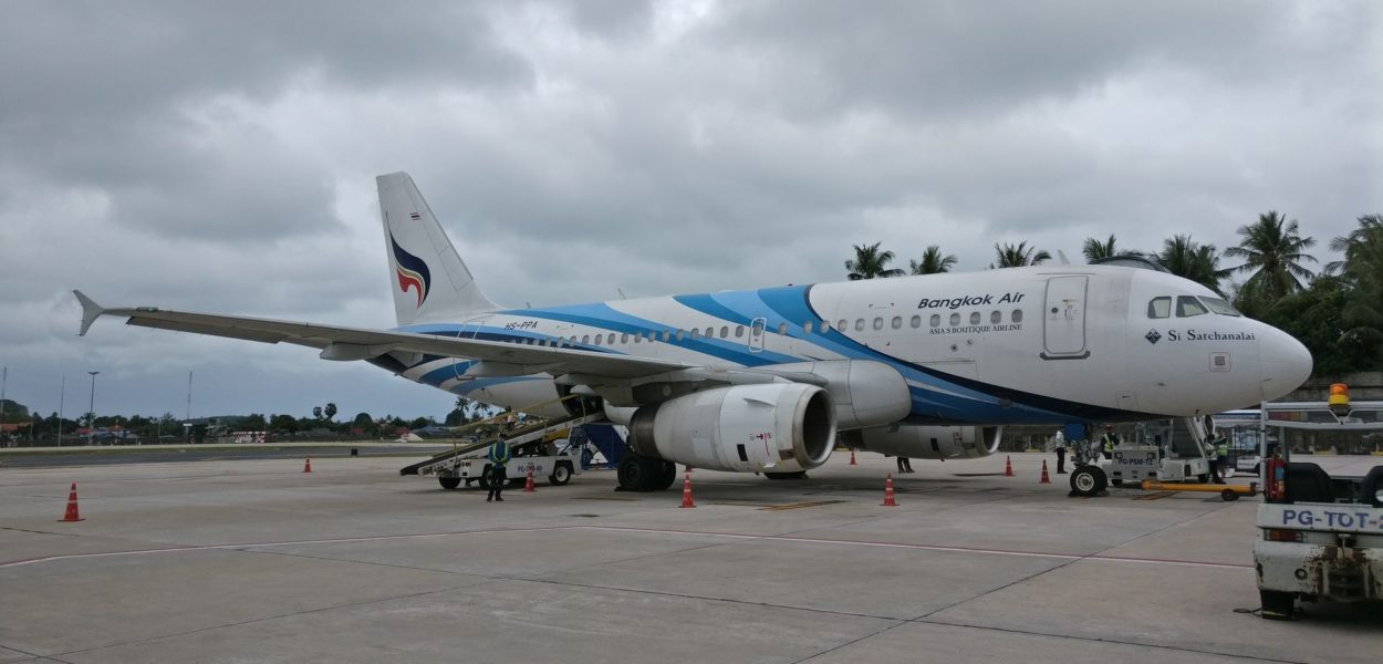 Bangkok Airways Aribus A319