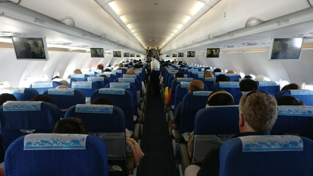Bangkok Airways Economy Class Cabin 2