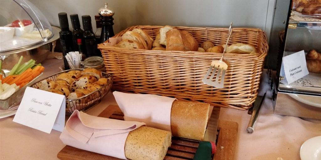 Ca Sagredo Venedig Frühstück Brot
