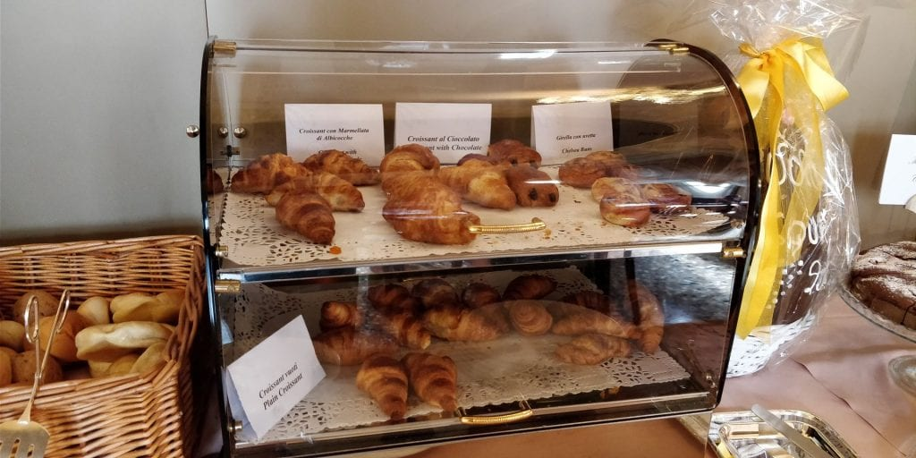 Ca Sagredo Venedig Frühstück Croissant