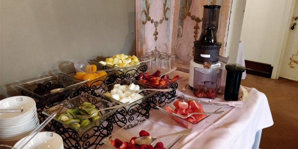 Ca Sagredo Venedig Frühstück Früchte