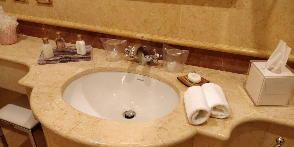 Ca Sagredo Venedig Zimmer Bad Waschbecken
