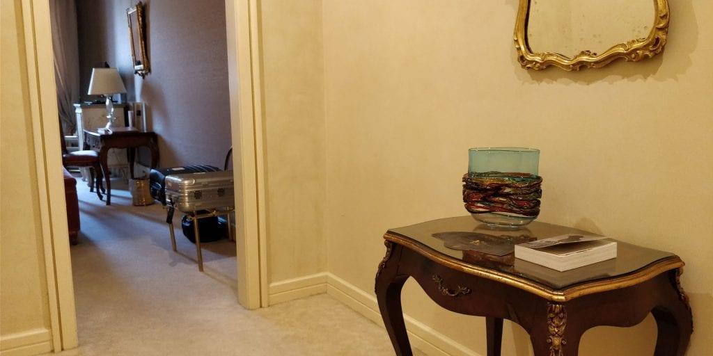 Ca Sagredo Venedig Zimmer Eingangsbereich